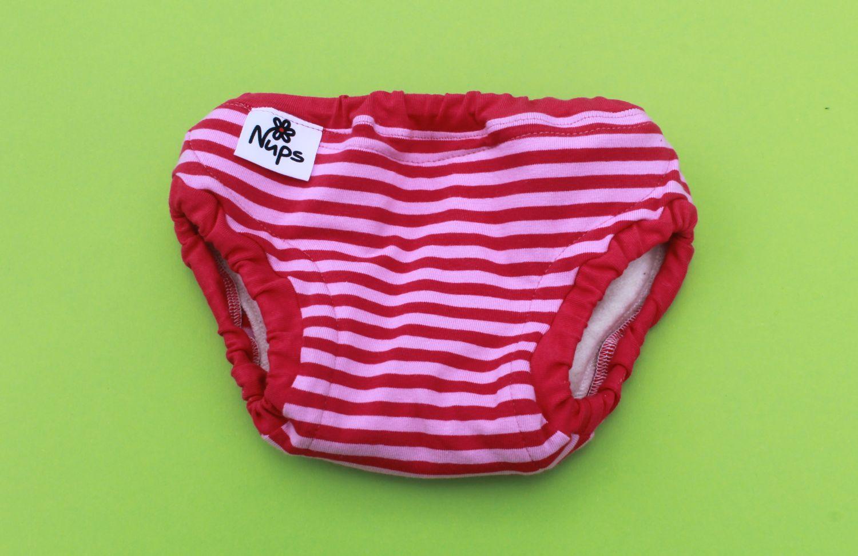 Roosa-punase triibuline kangas